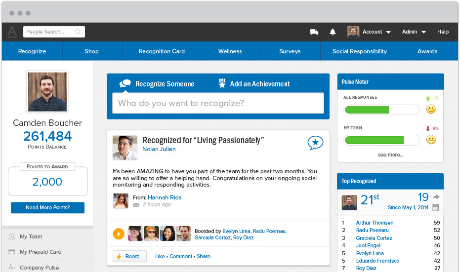 Achievers: Reviews of Achievers Human Resources HR & Employee