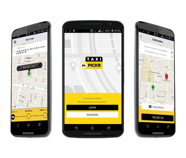 Taxi Pickr - Uber Clone Script